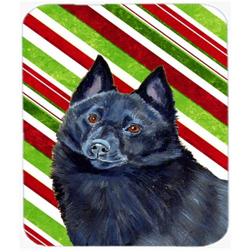 Carolines Treasures LH9249MP Schipperke Candy Cane Holiday Christmas Mouse Pad Hot Pad Or Trivet