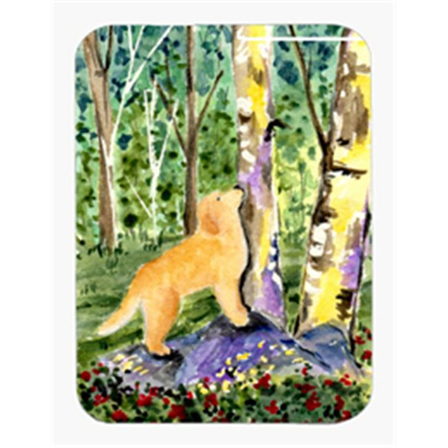 Carolines Treasures SS8887MP Golden Retriever Mouse Pad & Hot Pad & Trivet