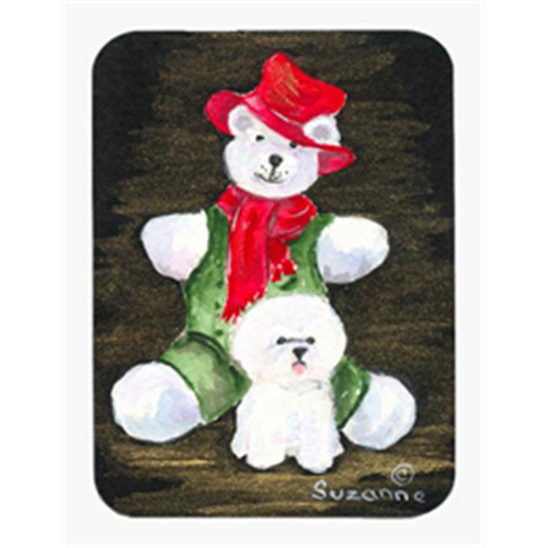 Carolines Treasures SS8948MP Bichon Frise Mouse Pad & Hot Pad & Trivet