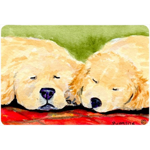 Carolines Treasures SS8902MP 9.25 x 7.75 in. Golden Retriever Mouse Pad Hot Pad or Trivet