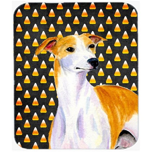 Carolines Treasures LH9069MP Whippet Candy Corn Halloween Portrait Mouse Pad Hot Pad or Trivet