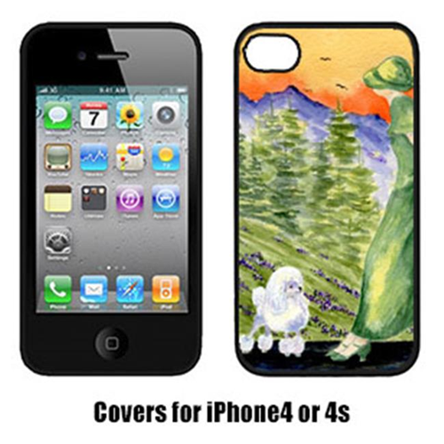 Carolines Treasures SS8618IP4 Poodle Iphone4 Cover