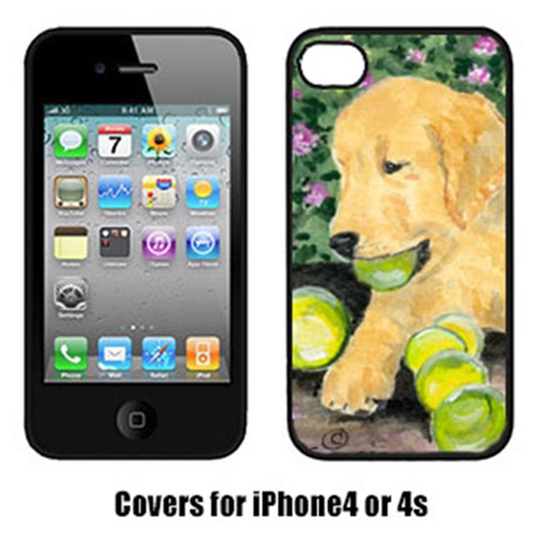 Carolines Treasures SS8759IP4 Golden Retriever Iphone4 Cover