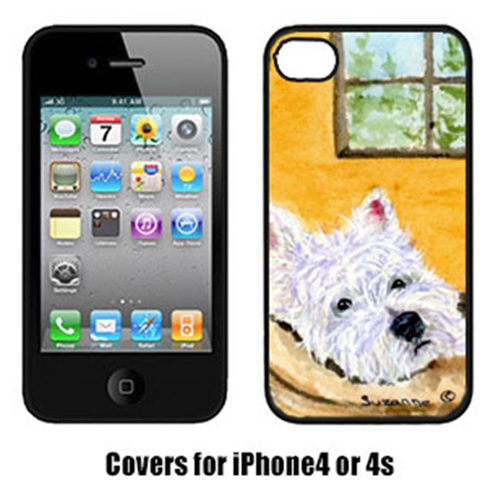 Carolines Treasures SS8785IP4 Westie Iphone4 Cover