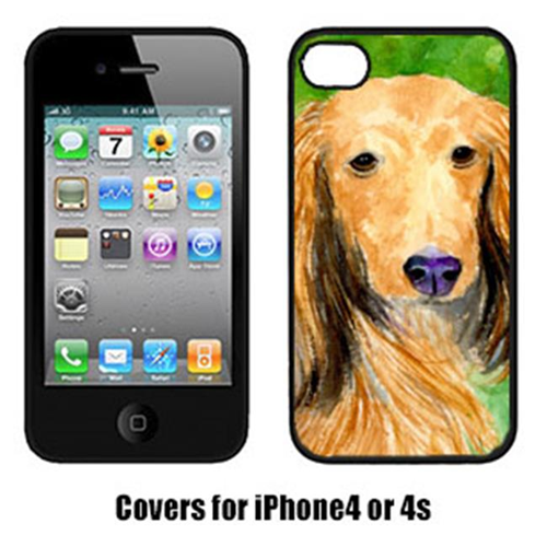 Carolines Treasures SS8790IP4 Dachshund Iphone4 Cover