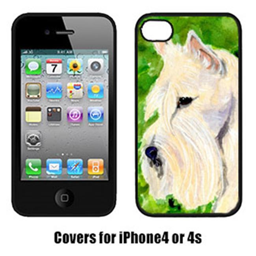 Carolines Treasures SS8791IP4 Scottish Terrier Iphone4 Cover