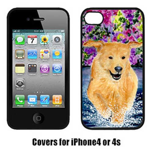 Carolines Treasures SS8627IP4 Golden Retriever Iphone4 Cover