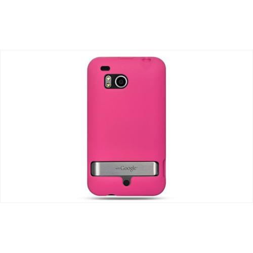 DreamWireless SCHTCINCHDHP-PR HTC Thunderbolt & Incredible HD & 6400 Premium Skin Case - Hot Pink