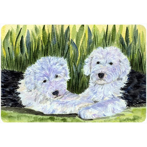Carolines Treasures SS8282MP Old English Sheepdog Mouse Pad Hot Pad Or Trivet