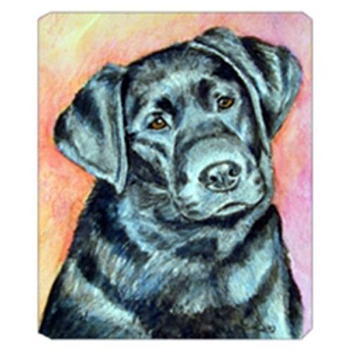 Carolines Treasures 7177MP 8 x 9.5 in. Black Labrador Mouse Pad Hot Pad Or Trivet
