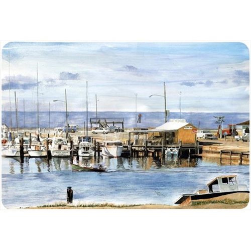 Carolines Treasures 8129MP 9.25 x 7.75 in. The Pass Bait Shop Mouse Pad Hot Pad Or Trivet