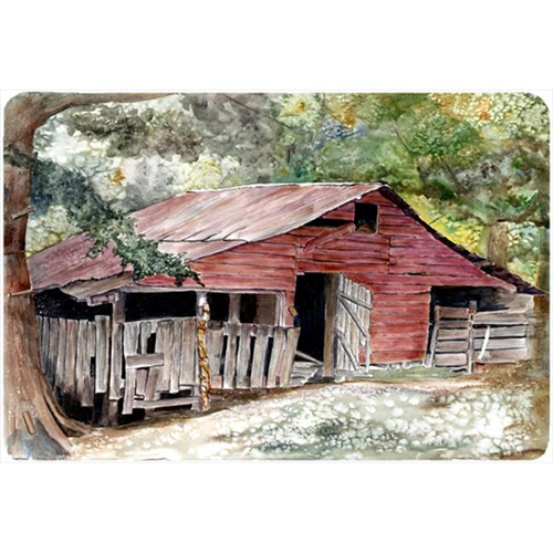 Carolines Treasures 8740MP 9.25 x 7.75 in. Old Barn Mouse Pad Hot Pad Or Trivet