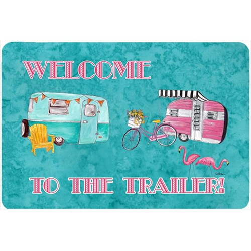 Carolines Treasures 8760MP 9.5 x 8 in. Welcome to the trailer Mouse Pad