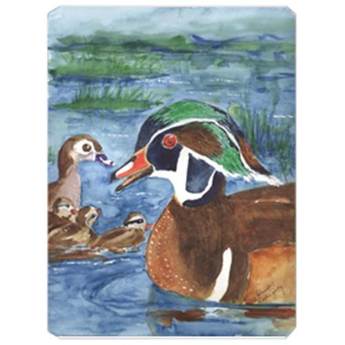 Carolines Treasures KR9024MP 9.5 x 8 in. Bird - Wood Duck Mouse Pad Hot Pad Or Trivet