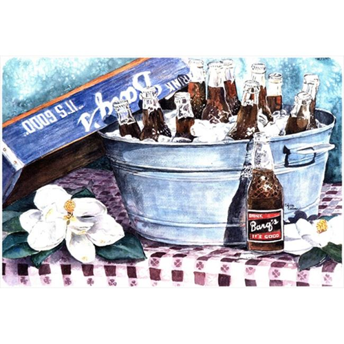 Carolines Treasures 1003MP 9.25 x 7.75 in. Barqs and old washtub Mouse Pad Hot Pad Or Trivet