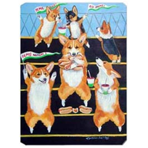 Carolines Treasures 7286MP 8 x 9.5 in. Go Team Corgi Mouse Pad