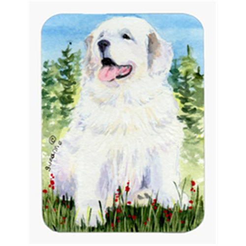 Carolines Treasures SS8866MP Great Pyrenees Mouse Pad & Hot Pad Or Trivet