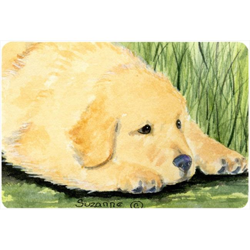 Carolines Treasures SS8864MP 9.25 x 7.75 in. Golden Retriever Mouse Pad Hot Pad or Trivet