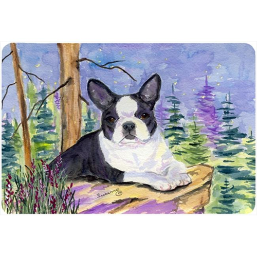 Carolines Treasures SS8638MP Boston Terrier Mouse pad hot pad or trivet