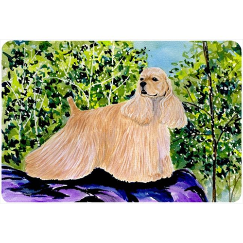Carolines Treasures SS8668MP Cocker Spaniel Mouse pad hot pad or trivet
