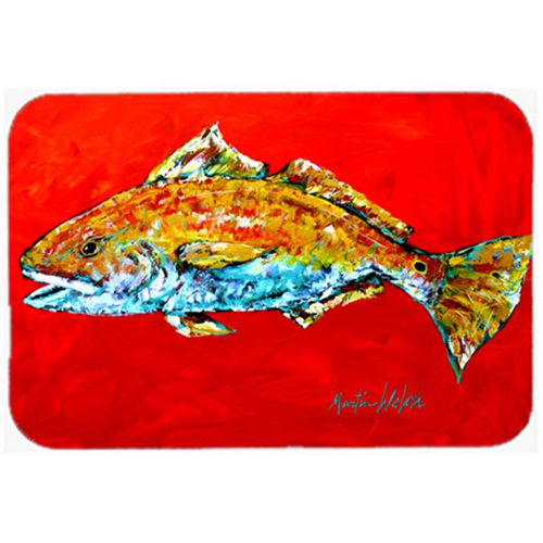 Carolines Treasures MW1111MP Fish - Red Fish Red Head Mouse Pad Hot Pad or Trivet
