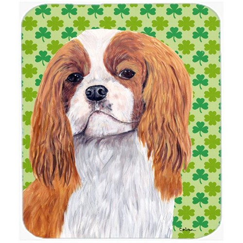 Carolines Treasures SC9314MP Cavalier Spaniel St. Patricks Day Shamrock Mouse Pad Hot Pad or Trivet