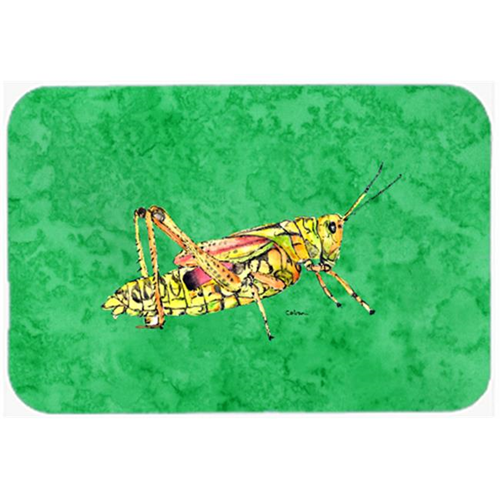 Carolines Treasures 8849MP Grasshopper on Green Mouse Pad Hot Pad or Trivet