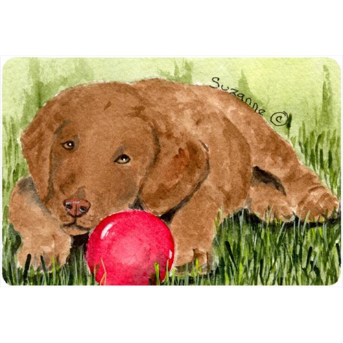 Carolines Treasures SS8684MP Curly Coated Retriever Mouse pad hot pad or trivet