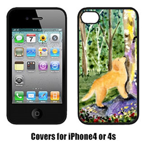 Carolines Treasures SS8887IP4 Golden Retriever Cell Phone Cover Iphone4