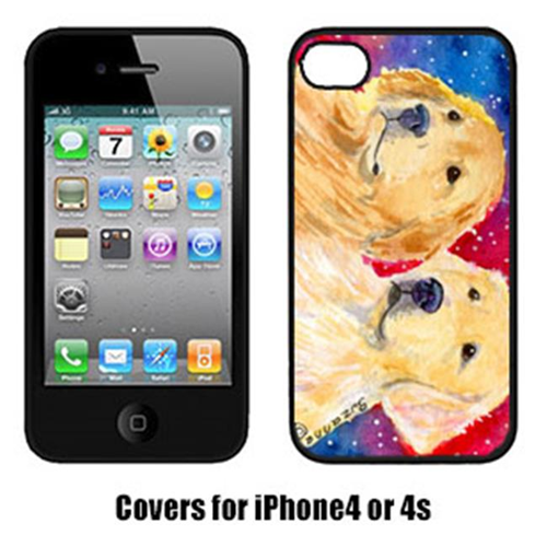 Carolines Treasures SS8754IP4 Golden Retriever Cell Phone Cover Iphone4