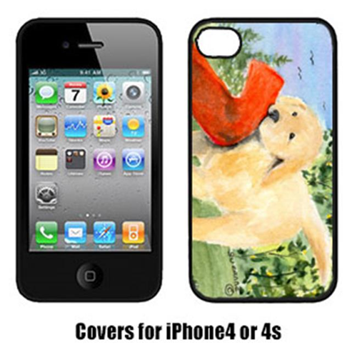 Carolines Treasures SS8762IP4 Golden Retriever Cell Phone Cover Iphone4
