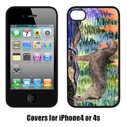 Carolines Treasures SS8205IP4 Irish Wolfhound Cell Phone Cover Iphone4