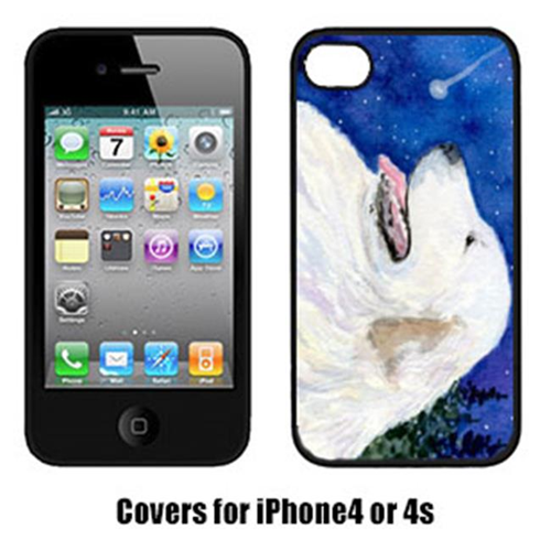 Carolines Treasures SS8774IP4 Great Pyrenees Cell Phone Cover Iphone4