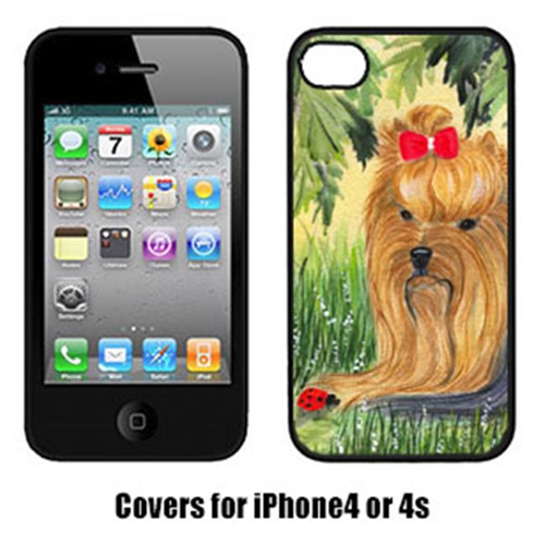 Carolines Treasures SS8258IP4 Yorkie Cell Phone cover IPhone 4