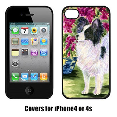 Carolines Treasures SS8477IP4 Papillon Cell Phone Cover Iphone 4
