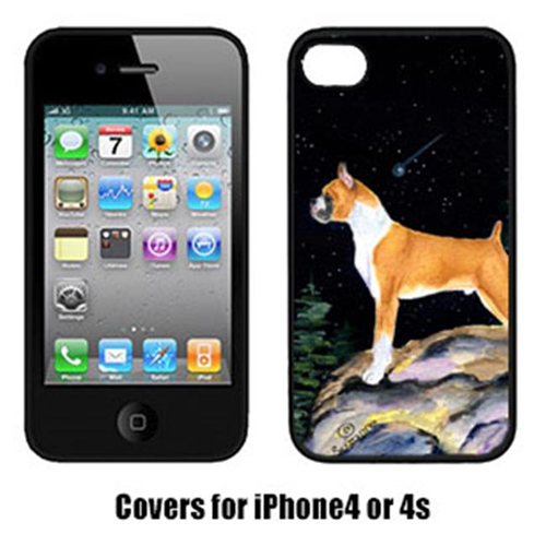 Carolines Treasures SS8496IP4 Starry Night Boxer Iphone4 Cover