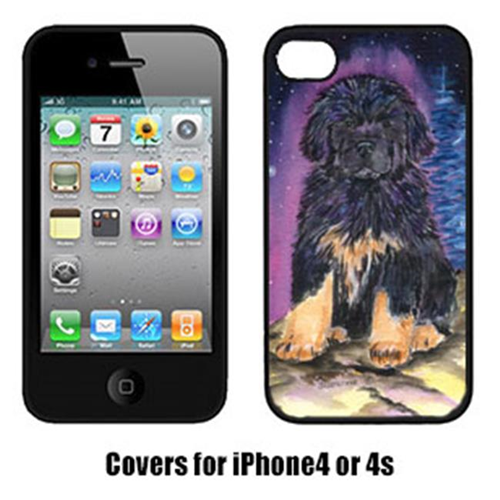 Carolines Treasures SS8440IP4 Starry Night Tibetan Mastiff Cell Phone Cover For Iphone 4