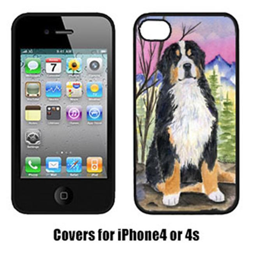 Carolines Treasures SS8336IP4 Bernese Mountain Dog Cell Phone cover IPhone 4