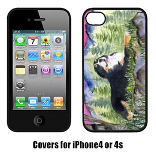 Carolines Treasures SS8332IP4 Bernese Mountain Dog Cell Phone cover IPhone 4