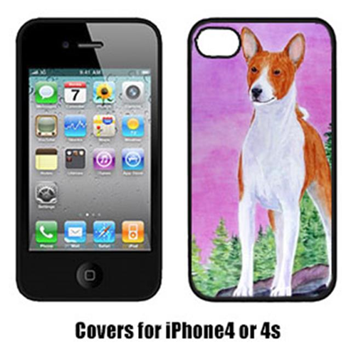 Carolines Treasures SS8611IP4 Basenji Iphone4 Cover