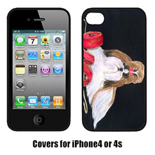 Carolines Treasures SS8562IP4 Shih Tzu Iphone4 Cover