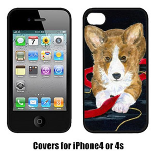 Carolines Treasures SS8570IP4 Corgi Iphone4 Cover