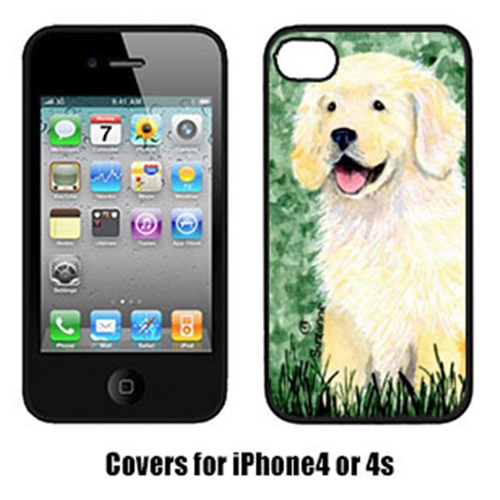 Carolines Treasures SS8739IP4 Golden Retriever Iphone4 Cover