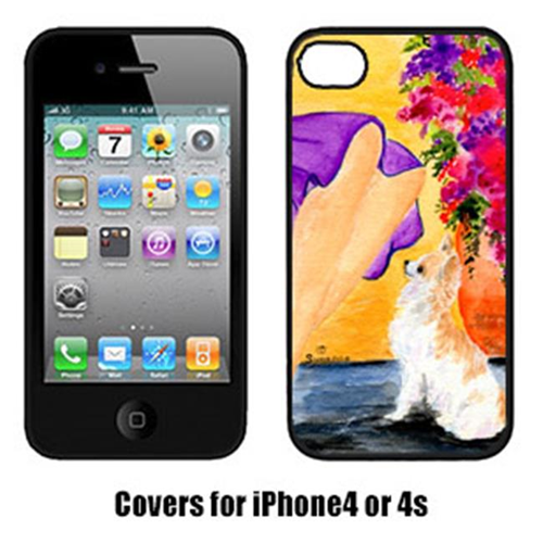Carolines Treasures SS8521IP4 Lady With Her Chihuahua Iphone4 Cover