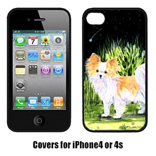Carolines Treasures SS8516IP4 Starry Night Chihuahua Iphone4 Cover