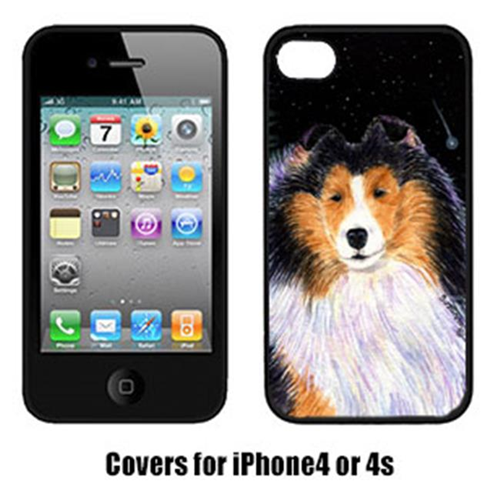 Carolines Treasures SS8491IP4 Starry Night Collie Iphone4 Cover
