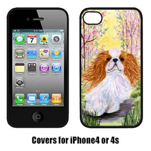 Carolines Treasures SS8613IP4 English Toy Spaniel Cell Phone Cover Iphone 4