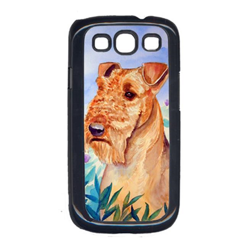 Carolines Treasures 7007GALAXYSIII Airedale Terrier in Flowers Cell Phone Cover Galaxy S111