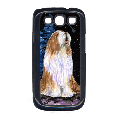 Carolines Treasures SS8467GALAXYSIII Starry Night Bearded Collie Cell Phone Cover Galaxy S111