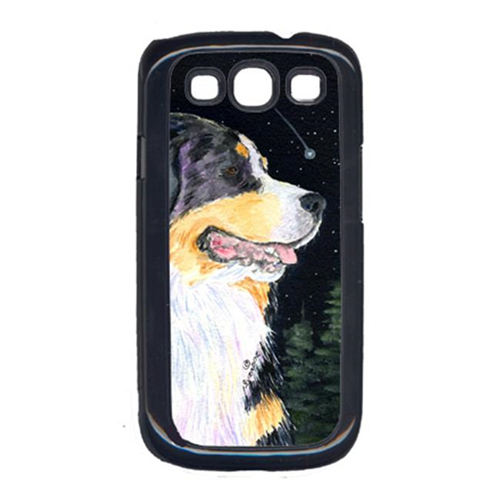 Carolines Treasures SS8512GALAXYSIII Starry Night Bernese Mountain Dog Cell Phone Cover Galaxy S111